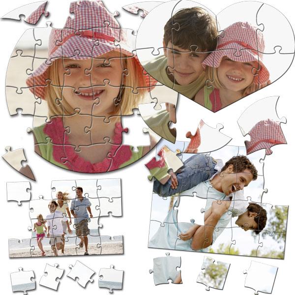 MCprint - Fotodárky: Fotopuzzle různých formátů