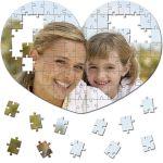 MCprint.eu - Fotodárky: Fotopuzzle srdce 100 dílků