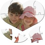 MCprint.eu - Fotogeschenke: Puzzle-Herz 8 Teile ohne Foto-Schachtel