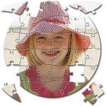 MCprint.eu - Fotodárky: Fotopuzzle kruh 30 dílků