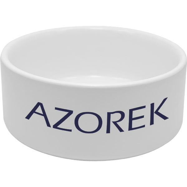 MCprint.eu - Photogift: Photo dog bowl white