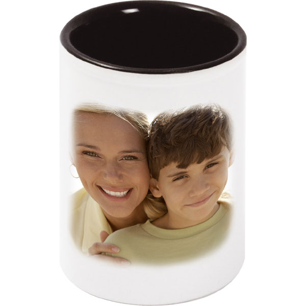 MCprint.eu - Photogift: Photo pencil holder - white with black interior
