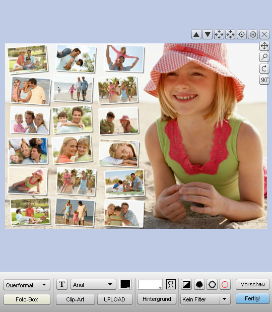MCprint.eu - Fotogeschenke: Foto-Collage-Puzzles