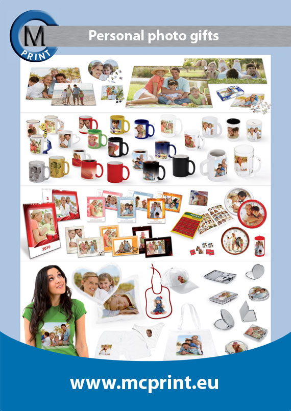 Gifts with your own photo, puzzles printing