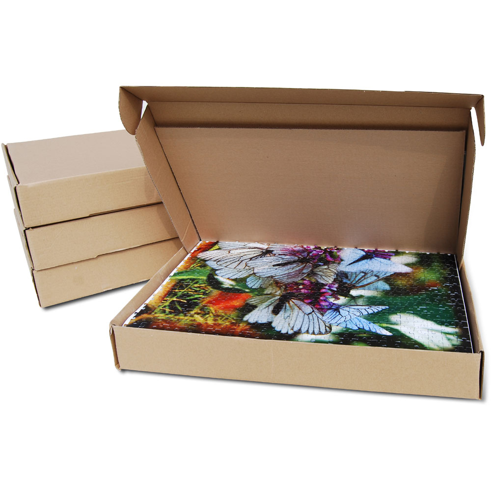 Box for puzzle sections
