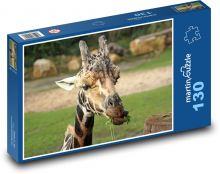Giraffe Puzzle of 130 pieces