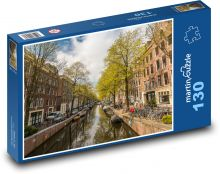 Amsterdam Puzzle of 130 pieces
