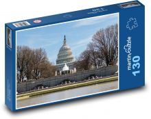 The US Capitol Building Puzzle of 130 pieces