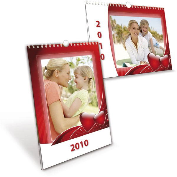 A3 calendar 2019, a practical gift with collective digital photos for family