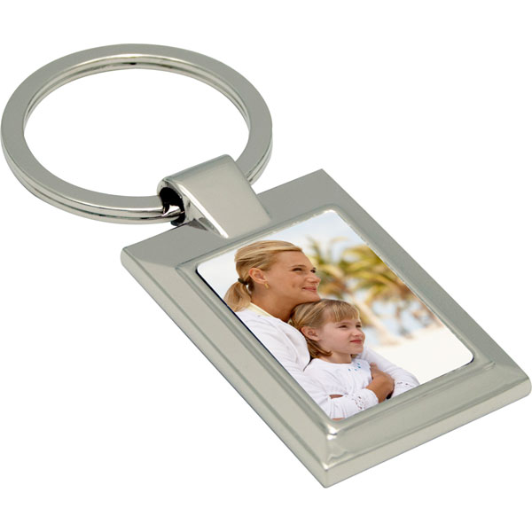 Key case - rectangle, a name day keepsake from a photo for your girlfriend