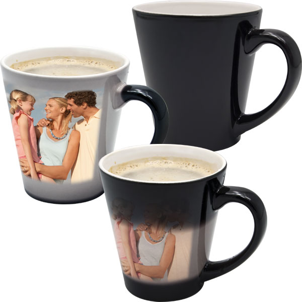 Mug  MAGIC latte - 1x print for a right-hander, a Christmas keepsake