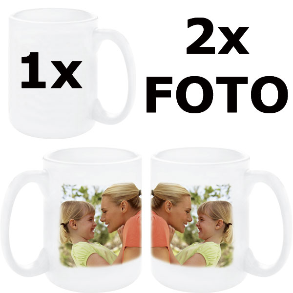 Mug JUMBO 15oz - 2x prints (dougle-sided), a gift for your mother-in-law