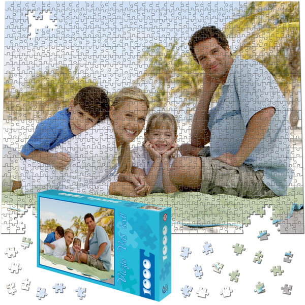 1000 Piece Puzzle 23 x 18 in with a gift box