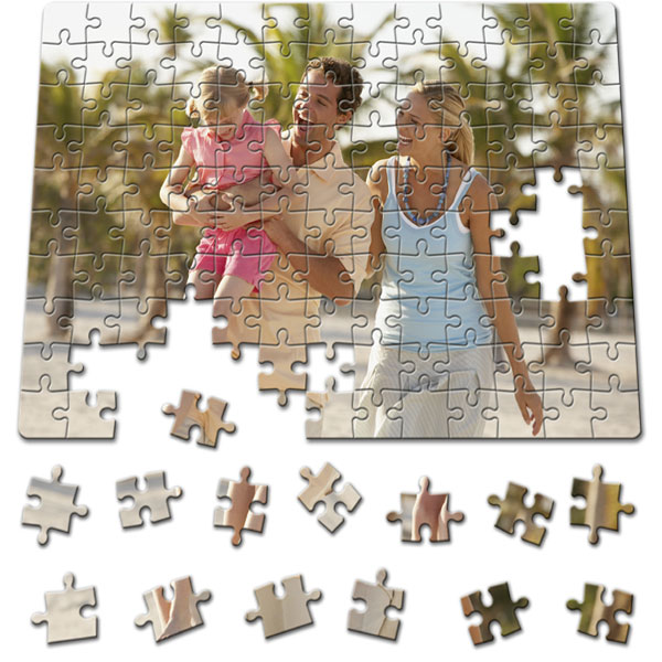 130 Piece Puzzle 11 x 8 in, a beautiful birthday gift with a picture for a boy