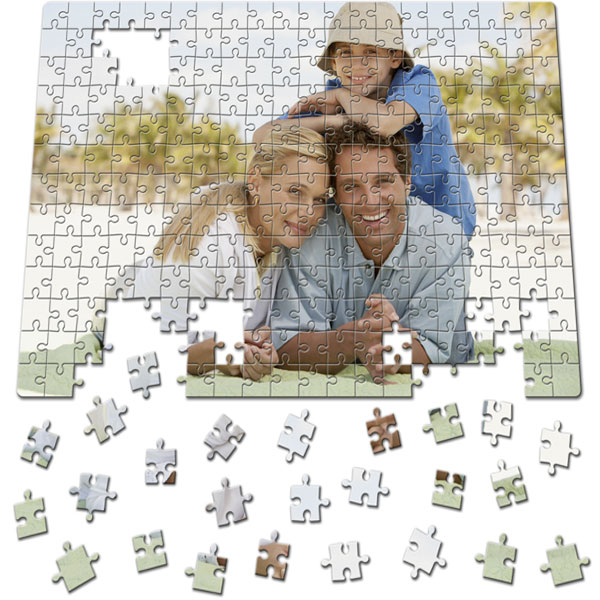 260 Piece Puzzle 16 x 11 in, great gifts from a personal photo for your grandpa