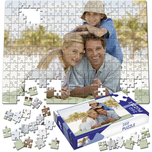 260 Piece Puzzle 16 x 11 in with a gift box