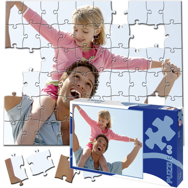 60 Piece Puzzle 10 x 8 in with a gift box