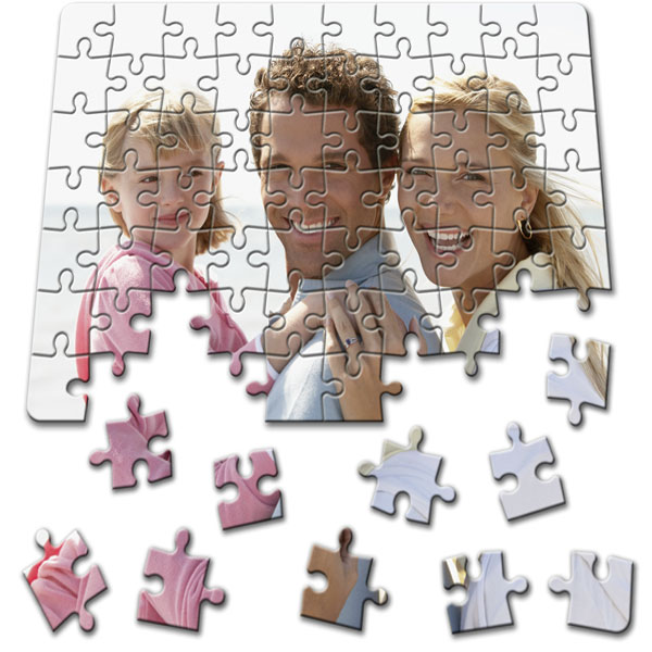 70 Piece Puzzle 8 x 5.5 in, a great childs gift idea from a personal pattern