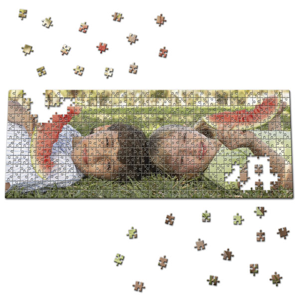 494 Piece Puzzle 31 x 11 in, a favourite photo gift for newlyweds