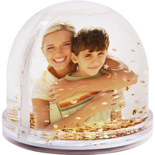 Snow globe stars - 2x prints, a gift with pictures not only for Christmas